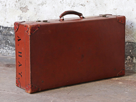 Brown Vintage Suitcase Thumbnail