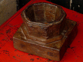 Old Wooden Candleholder 15 Thumbnail