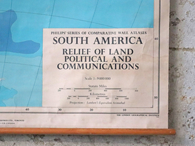 Vintage Map of South America Thumbnail