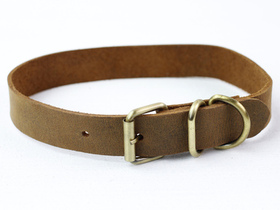 Leather Dog Collar Large Thumbnail