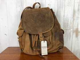 SECONDS Boho Leather Backpack Large Thumbnail