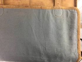 SECONDS Large Vintage Satchel 16 Inch With Pocket Thumbnail