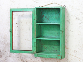 Green Wall Display Cabinet Thumbnail