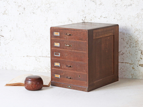 Japanese Oak Chest of Drawers Thumbnail