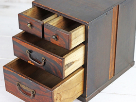 Small Japanese Chest of Drawers Thumbnail
