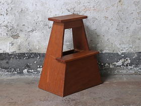 Japanese Wooden Stool Thumbnail