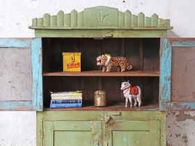 Large Vintage Cupboard Thumbnail