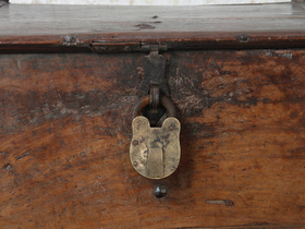 Large Antique Storage Chest Thumbnail
