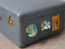 Large Vintage Suitcase by Globetrotter Thumbnail
