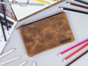 Large Leather Pencil Case Thumbnail