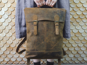 Soho Leather Backpack Thumbnail
