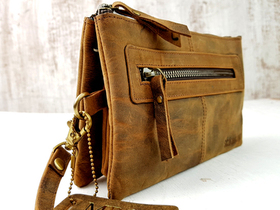Leather Clutch Bag Thumbnail