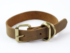 Leather Dog Collar Extra Small Thumbnail