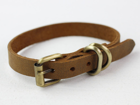 Leather Dog Collar Medium Thumbnail