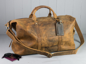More views of Leather Duffle Bag