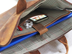 Leather Laptop Bag Thumbnail