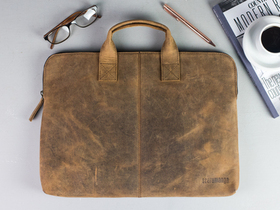 Leather Laptop Bag 13 Inch Thumbnail