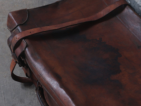 Vintage Revelation Leather Suitcase  Thumbnail