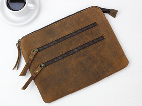 Leather Tablet And Travel Pouch Thumbnail