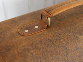 Medium Overlander Leather Satchel 16 Inch Thumbnail