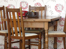 Oak Dining Chairs Thumbnail