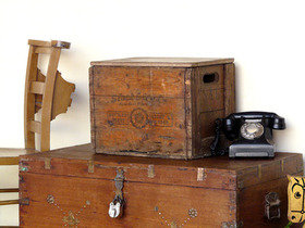 Vintage Wooden Crate Thumbnail