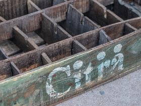 Old Citra Bottle Crate Thumbnail