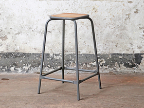 High Stool - Retro Style Thumbnail