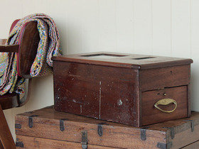 View our  Antique Cash Till from the  Old Wooden Chests, Trunks & Boxes collection