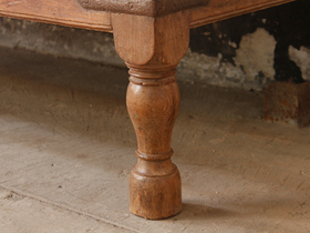 Antique Wood Coffee Table Thumbnail
