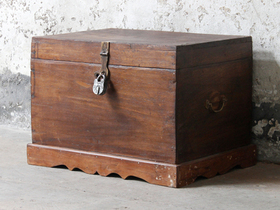 View our  Antique Treasure Chest from the  Sold collection