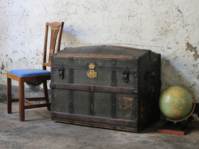 View our  Antique Travel Trunk from the  New In collection