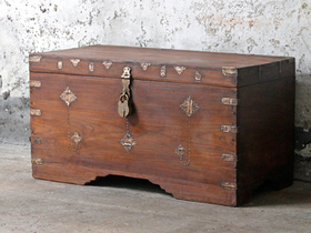 View our  Treasure Chest  from the  Old Wooden Chests, Trunks & Boxes collection