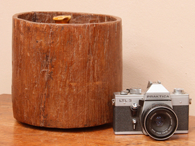 View our  Antique Wooden Measuring Pot from the  Old Wooden Chests, Trunks & Boxes collection