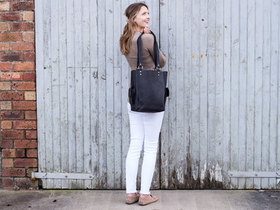 View our  Black Classic Tote Bag from the  Leather Bags & Satchels collection