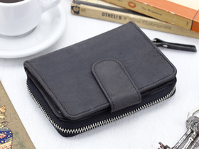 View our  Black Leather Purse 4 from the  Leather Bags & Satchels collection