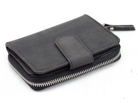 Black Leather Purse 4 Thumbnail