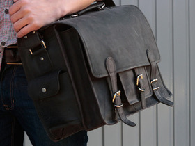 View our Men Black Medium Overlander Leather Satchel from the Men Leather Satchels & Bags collection