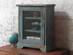 Blue Wall Display Cabinet Thumbnail