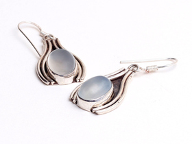 Blue & Silver Earrings Thumbnail