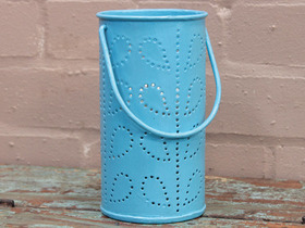 View our  Blue Painted Lantern from the  Lanterns collection