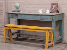 View our  Brahmin Blue Vintage Table from the  Vintage Tables & Desks collection