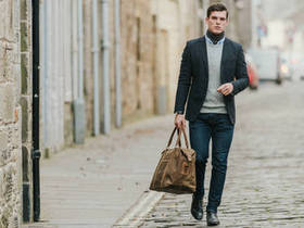 View our  Canvas Holdall For Men from the  New In collection