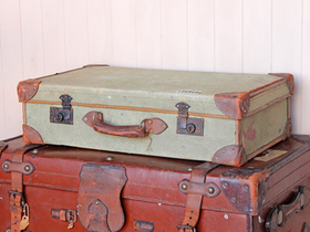 View our  Classic Military Suitcase from the  Vintage Suitcases collection
