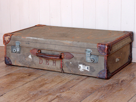 View our  Old Classic Military Suitcase from the  Vintage Suitcases collection
