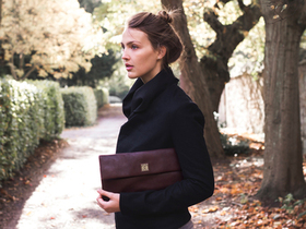 View our Women Leather Clutch-Gold Collection from the Women Handbags collection