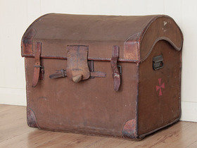 View our  Dome Travel Trunk from the  Old Travel Trunks collection