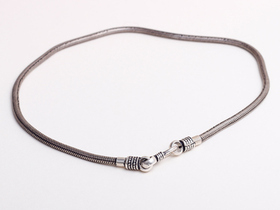 View our  Thick Sterling Silver Necklace from the  Jewellery Gifts collection