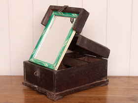 Folding Mirror Barber's Box Thumbnail