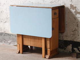 Blue Vintage Formica Table Thumbnail